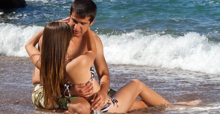 riesgos del sexo en la playa
