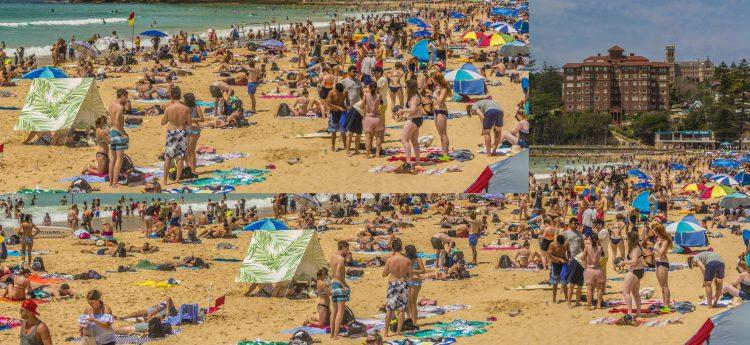 Playas llenas con la llegada del buen tiempo (Fuente: Antonio Bacasno / Flickr)
