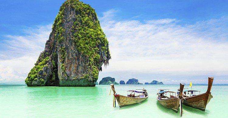 Te sorprenderán las cristalinas aguas de Tailandia (iStock)