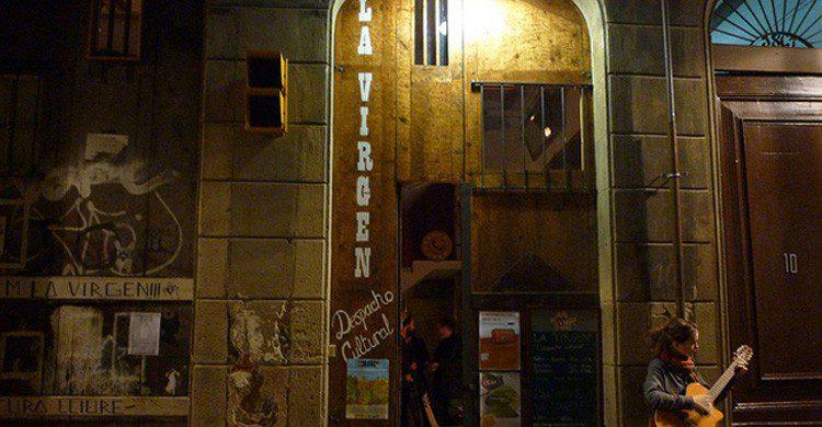 Bar clandestino El Arco de la Virgen en Barcelona (Fuente: enbarcelona.com)