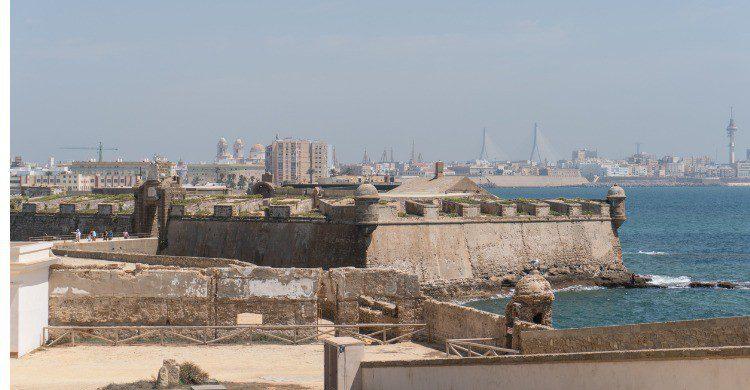 El Castillo de San Sebastián en Cádiz (Fuente: iStock)