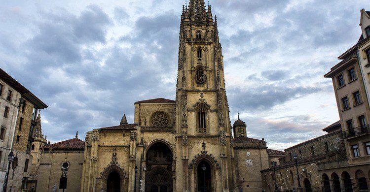 La Catedral de Oviedo (Fuente: David Alvarez Lopez / Flickr)