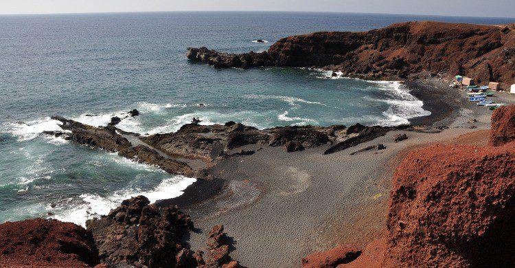 Playa Las Conchas en Lanzarote (Fuente: iStock)