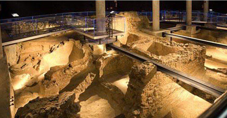 El yacimiento de Gadir en Cádiz (Fuente: spain.info)