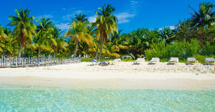 Playa de Isla Mujeres (iStock)