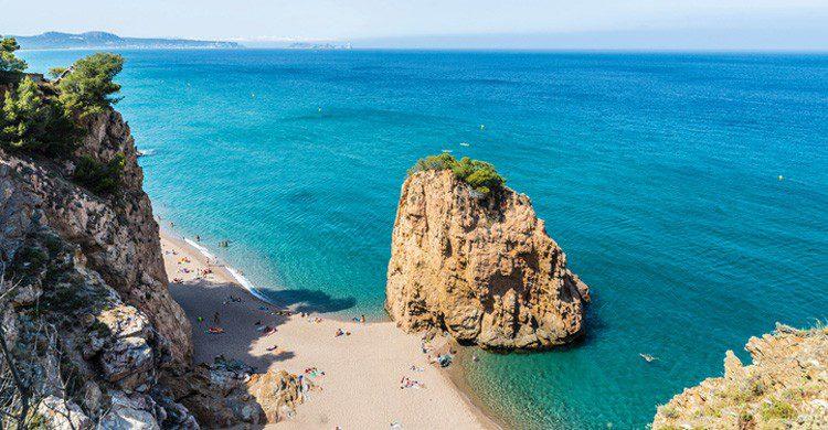 La Playa de la Illa Roja en Begur (Fuente: iStock)