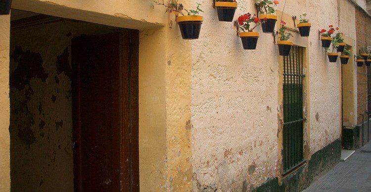 El barrio del Pópulo en Cádiz (Fuente: Jose A. Blazquez Rico / Flickr)