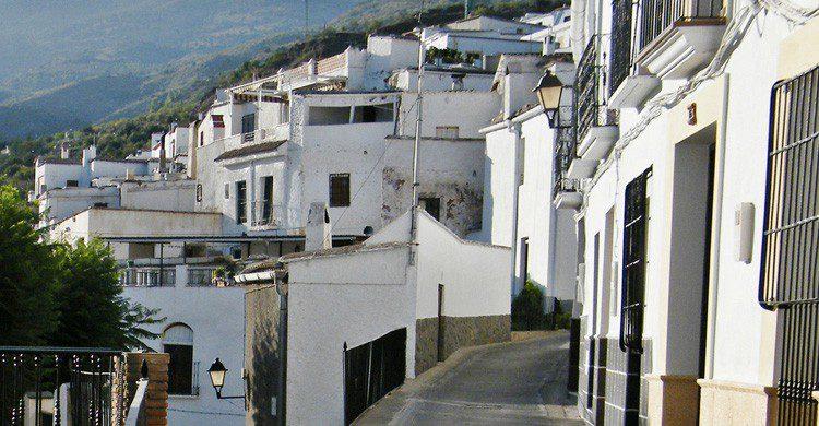 El blanco pueblo de Ohanes en Almería (Fuente: Sofía)