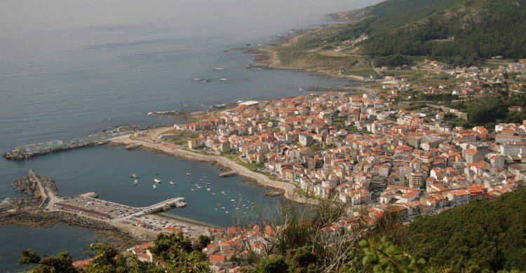 Vistas del pueblo de A Guarda, Pontevedra (Fuente: iStock)