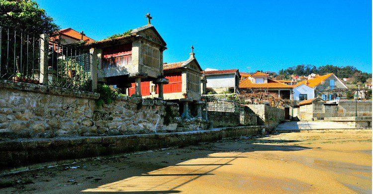 Los famosos hórreos de Combarro, Pontevedra (Fuente: iStock)