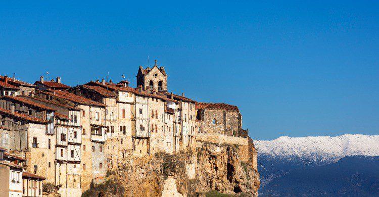 Fría, un espectacular pueblo burgalés (Fuente: iStock)