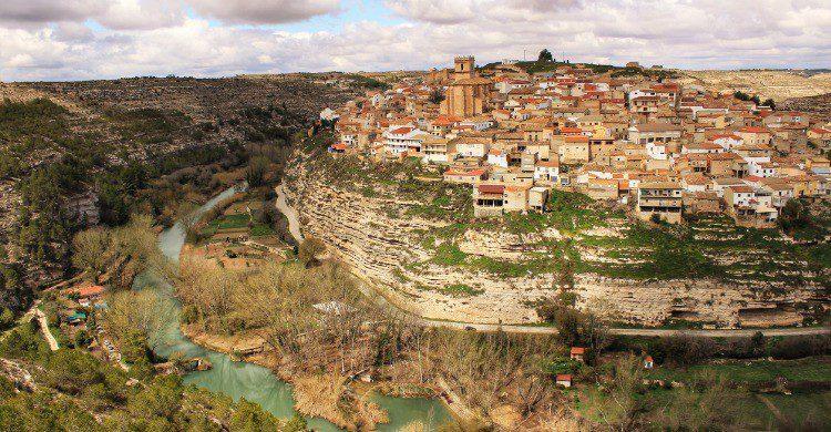 La increíbles vistas de Jorquera en Albacete (Fuente: iStock)