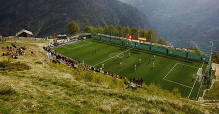 Estadio de Ottmar Hitzfeld en Suiza (Fuente: Pinterest)
