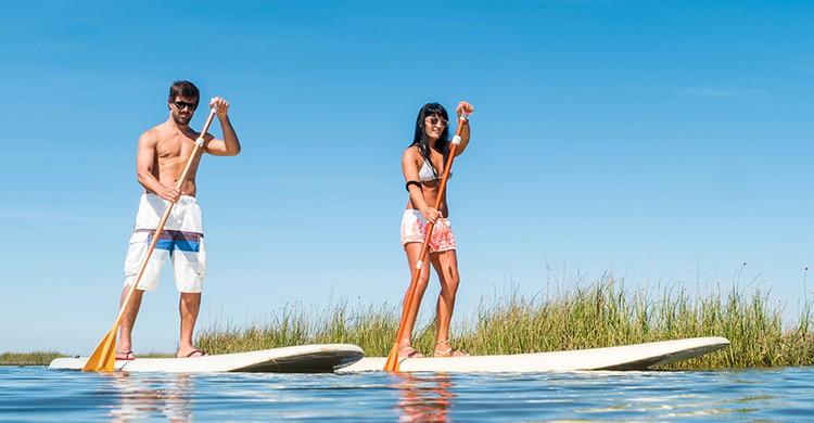 donde hacer paddle surf