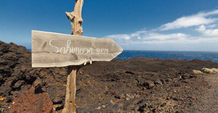 Sabinosa en la isla de El Hierro (Fuente: iStock)