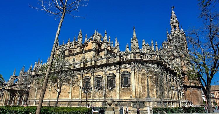 Visita la espectacular Catedral de Sevilla (Pixabay)