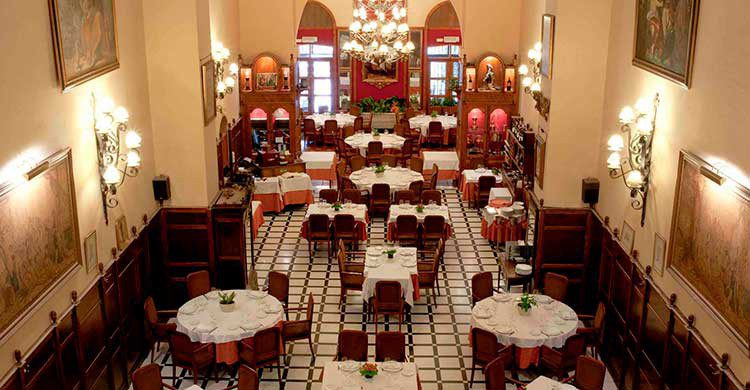 cenar en alcalá de henares