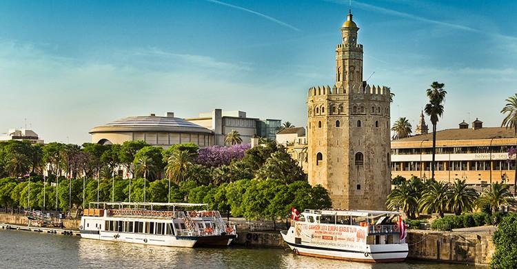 La Torre del Oro en Sevilla, un imprescindible (Pixabay)