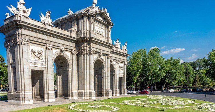 La Puerta de Alcalá en Madrid (Fuente: iStock)