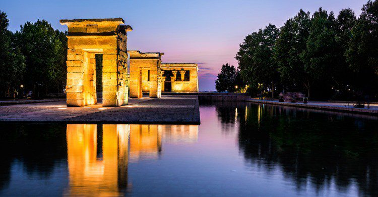 El Templo de Debod en Madrid (Fuente: iStock)