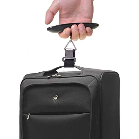 Una balanza portátil para pesar tu equipaje es un must have (E-PRANCE - Amazon)