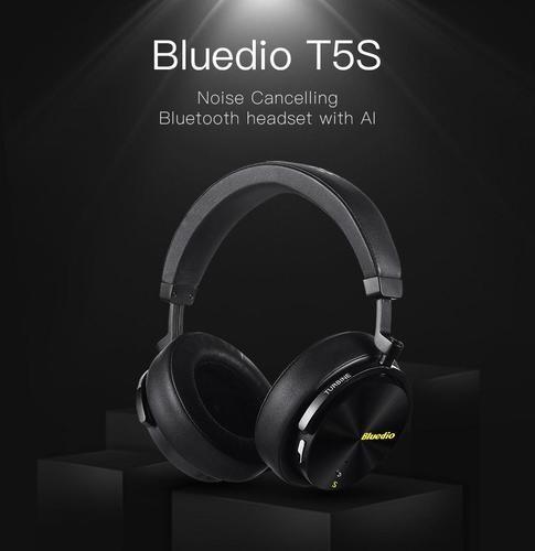 10 mejores auriculares con cancelación de ruido-Bluedio T5S