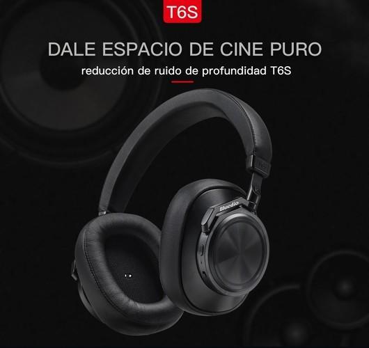 10 mejores auriculares con cancelación de ruido-Bluedio T6S