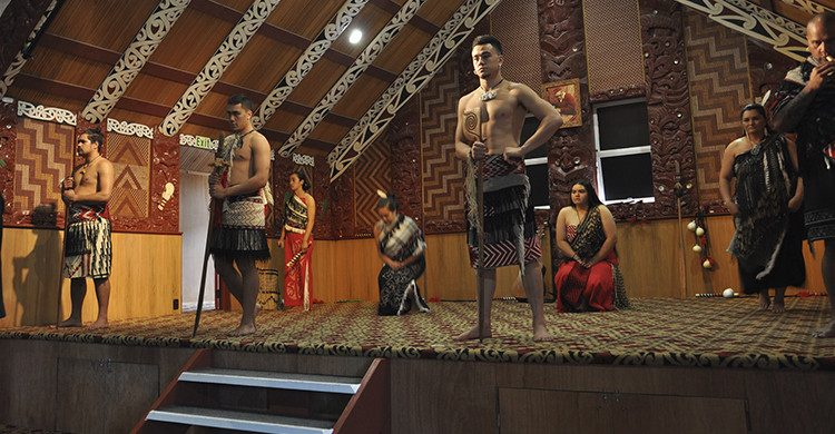 espectáculo maorí (Istock)