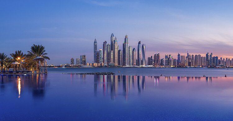 Dubai Marina al atardecer(Istock)