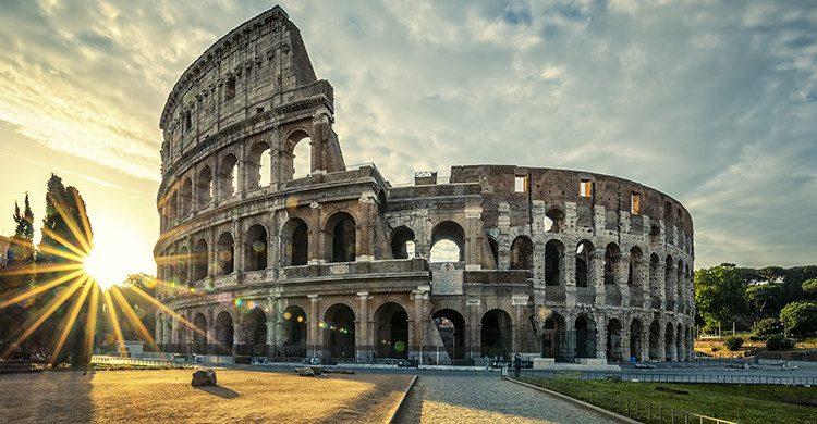 El Coliseo Romano uno de los monumentos más importantes de Roma(Istock)
