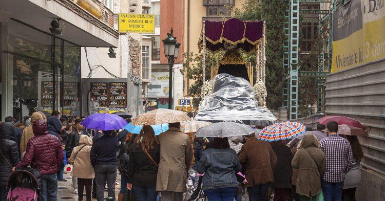 Lluvia durante la Semana Santa (istock)