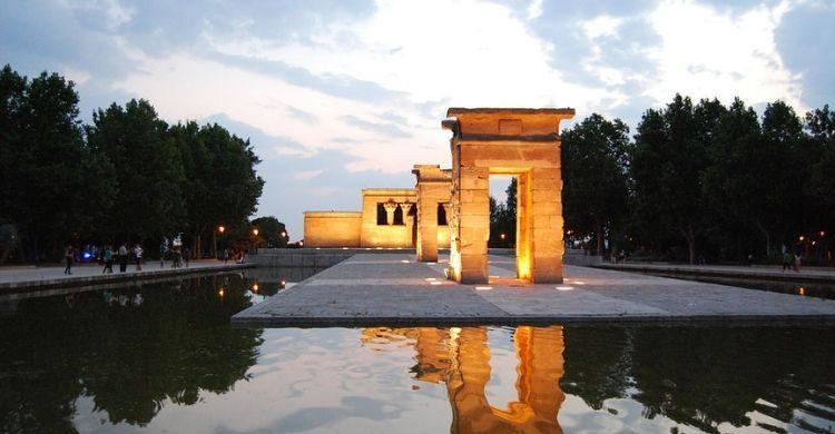 Templo de Debod de Madrid (pixabay)