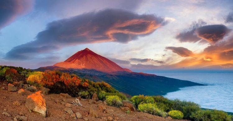 El volcán del Teide en Tenerife (istock)