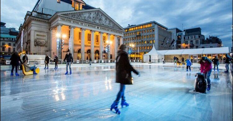Actividades de invierno en Bruselas. Fuente: Brussels Airlines