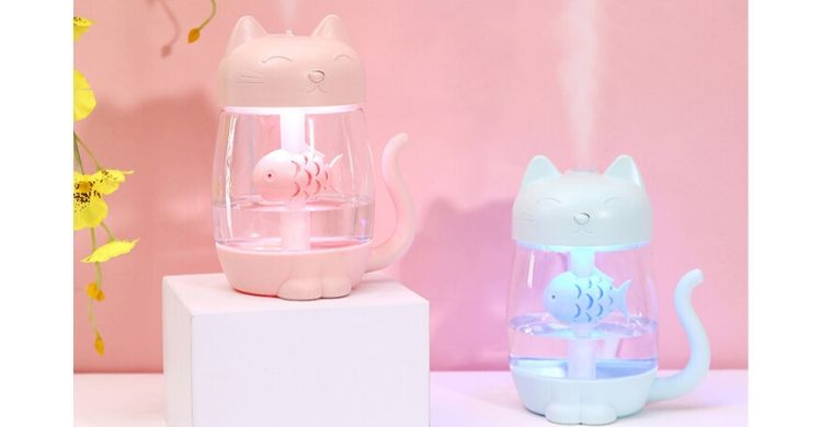 Humidificador de gato (Aliexpress)