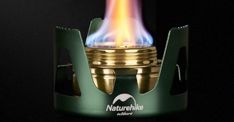 Mini quemadores portátiles Naturhike (Aliexpress).