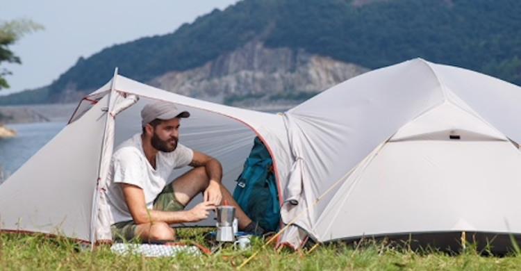 Naturhike Mongar 3 carpa para camping (Aliexpress).