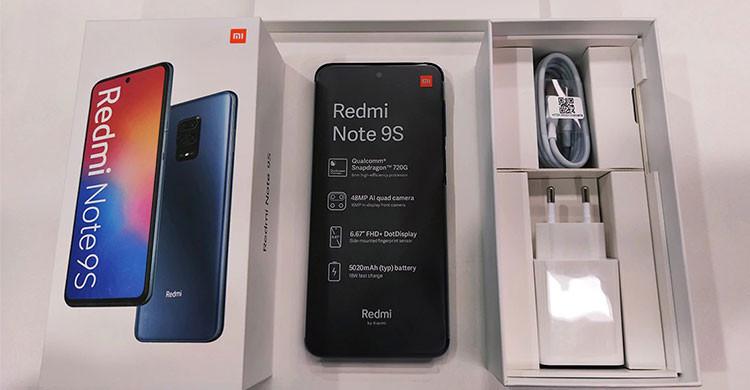 El nuevo Xiaomi Redmi Note 9S tiene batería de 5.020 mAh (es.aliexpress.com)
